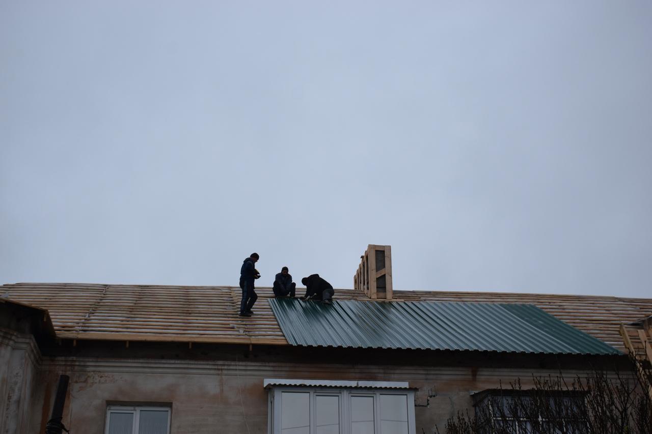 Особая технология позволяет тамбовским строителям работать в сырую погоду