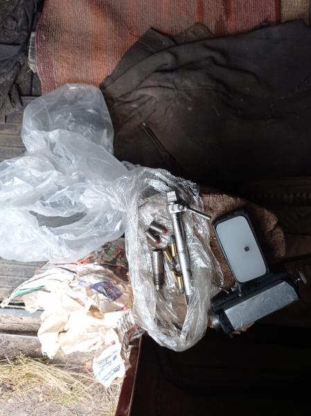 Полицейские изъяли у 64-летнего тамбовчанина самодельное оружие и патроны