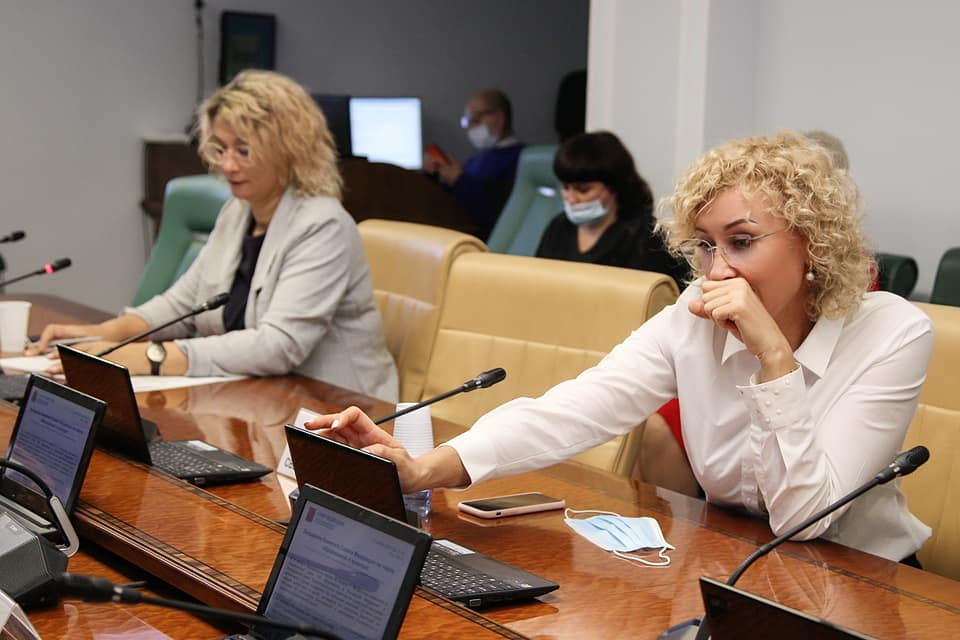 Сенатор от Тамбовской области приняла участие в заседании комитета по науке