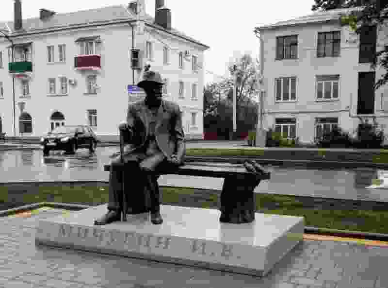Школьницы оторвали трость у памятника Ивану Мичурину ради красивых фото