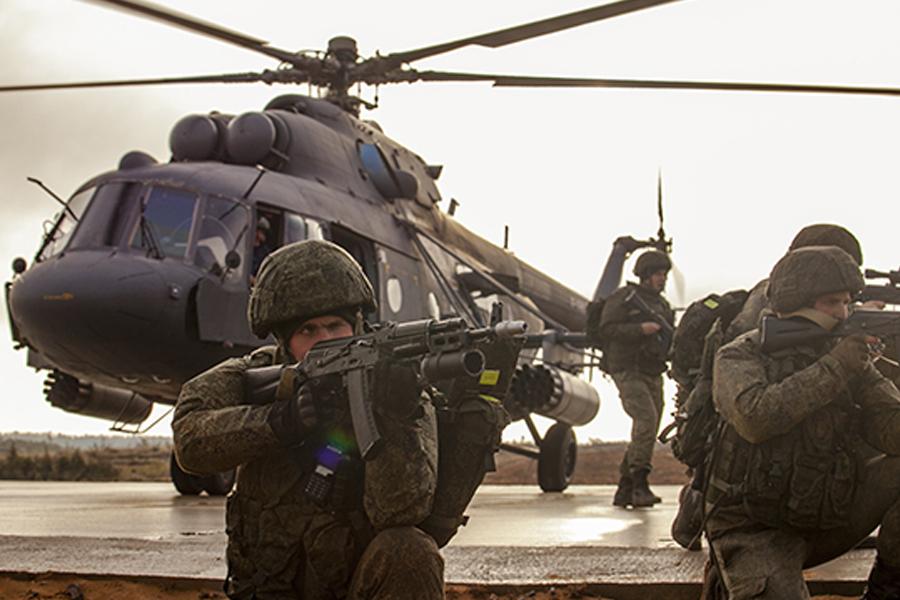 Спецназовцы из Воронежа провели учения в Тамбове