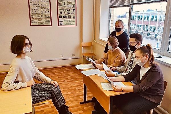 Студенты Тамбовского филиала РАНХиГС приняли участие в инсценировке конкурса на замещение вакантной должности секретаря судебного заседания
