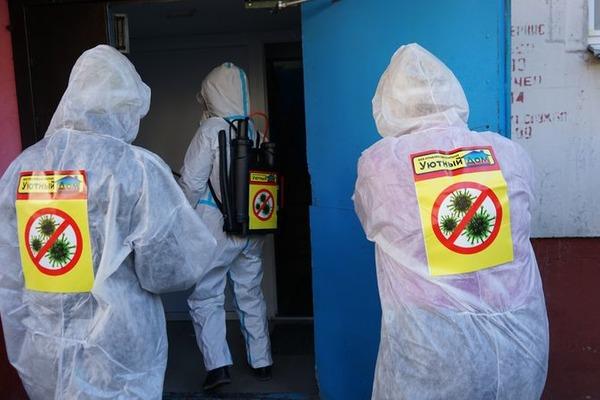 Тамбов продолжает бороться с коронавирусом