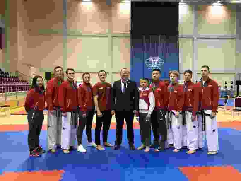 Тамбовчане за один день завоевали 9 медалей на Чемпионате России по тхэквондо