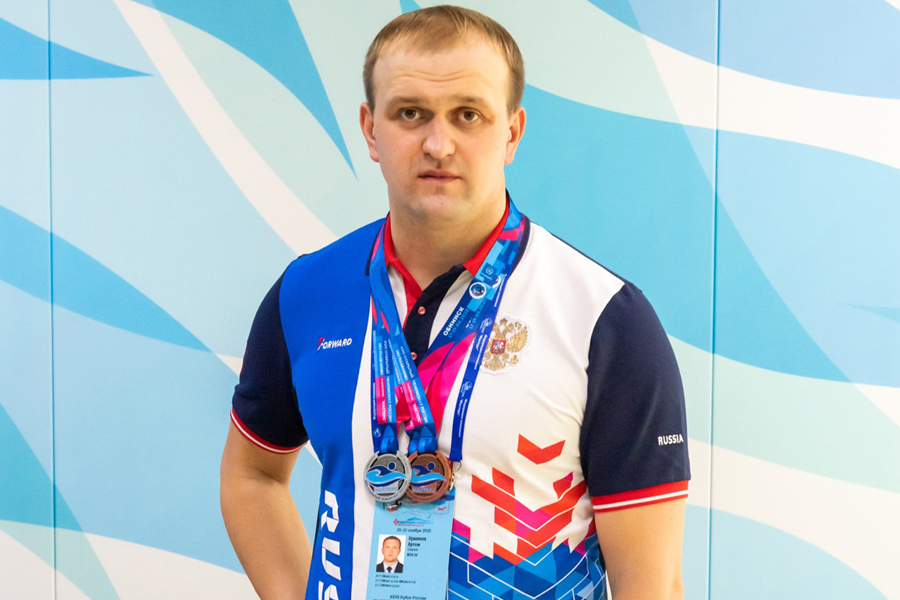 Тамбовский пловец выиграл три медали в Саранске