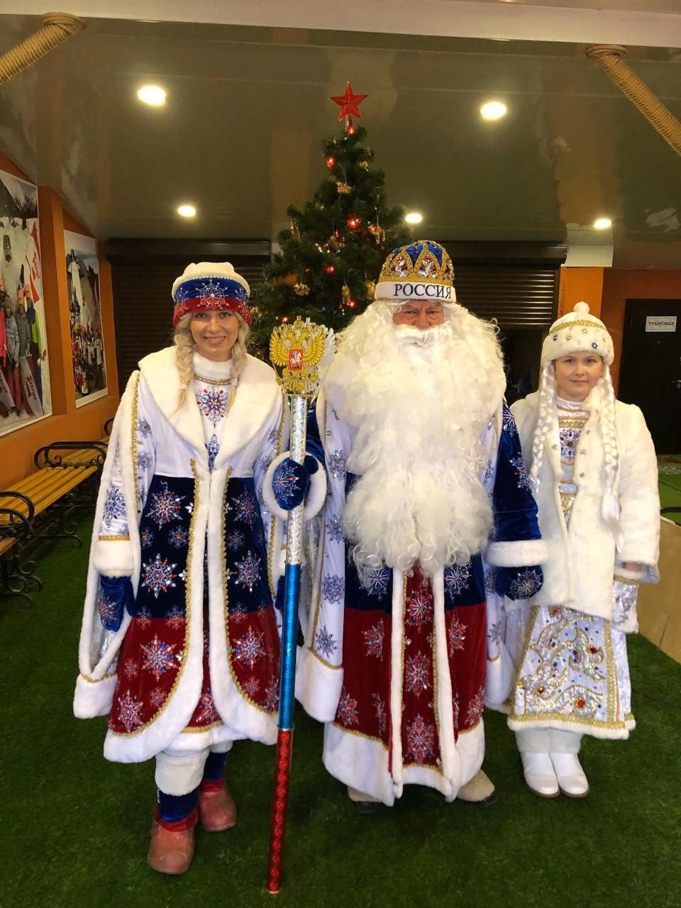 Тамбовский спортивный Дед Мороз готовится к Новому Году на самоизоляции