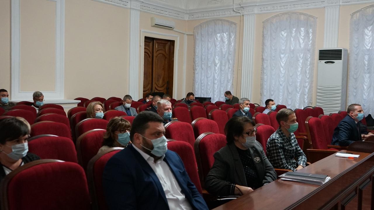 В администрации Тамбова обсудили меры противодействия COVID-19