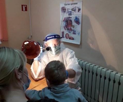 В детском отделении Мичуринской поликлиники появилось новое офтальмологическое оборудование