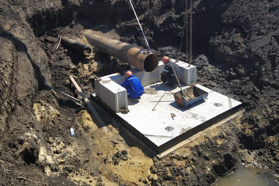 В двух районах Тамбовской области отремонтировали гидротехнические сооружения