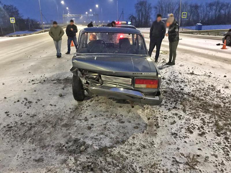 В Мичуринском районе в результате ДТП пострадал 71-летний водитель