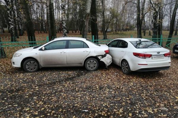 В Петровском районе в ДТП пострадали два ребенка
