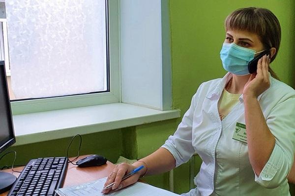 В Рассказовской ЦРБ открылся дистанционный центр наблюдения за пациентами с коронавирусом