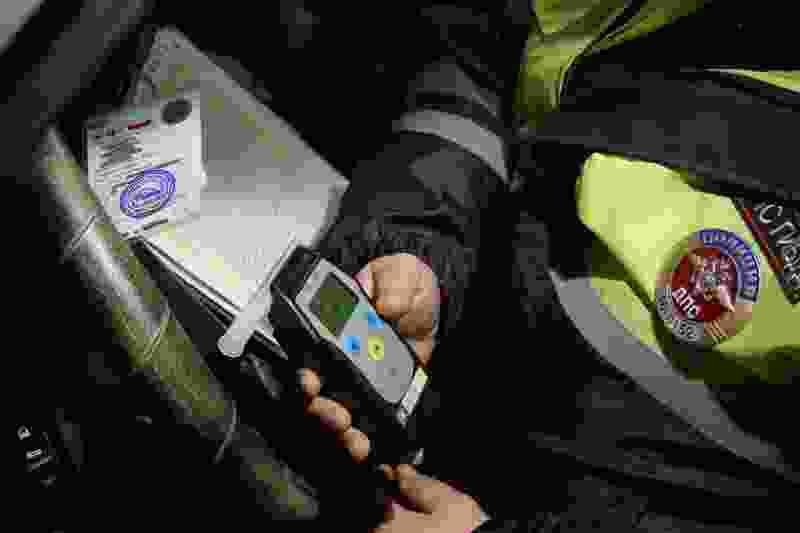 В регионе во время рейдов поймали 13 нетрезвых водителей