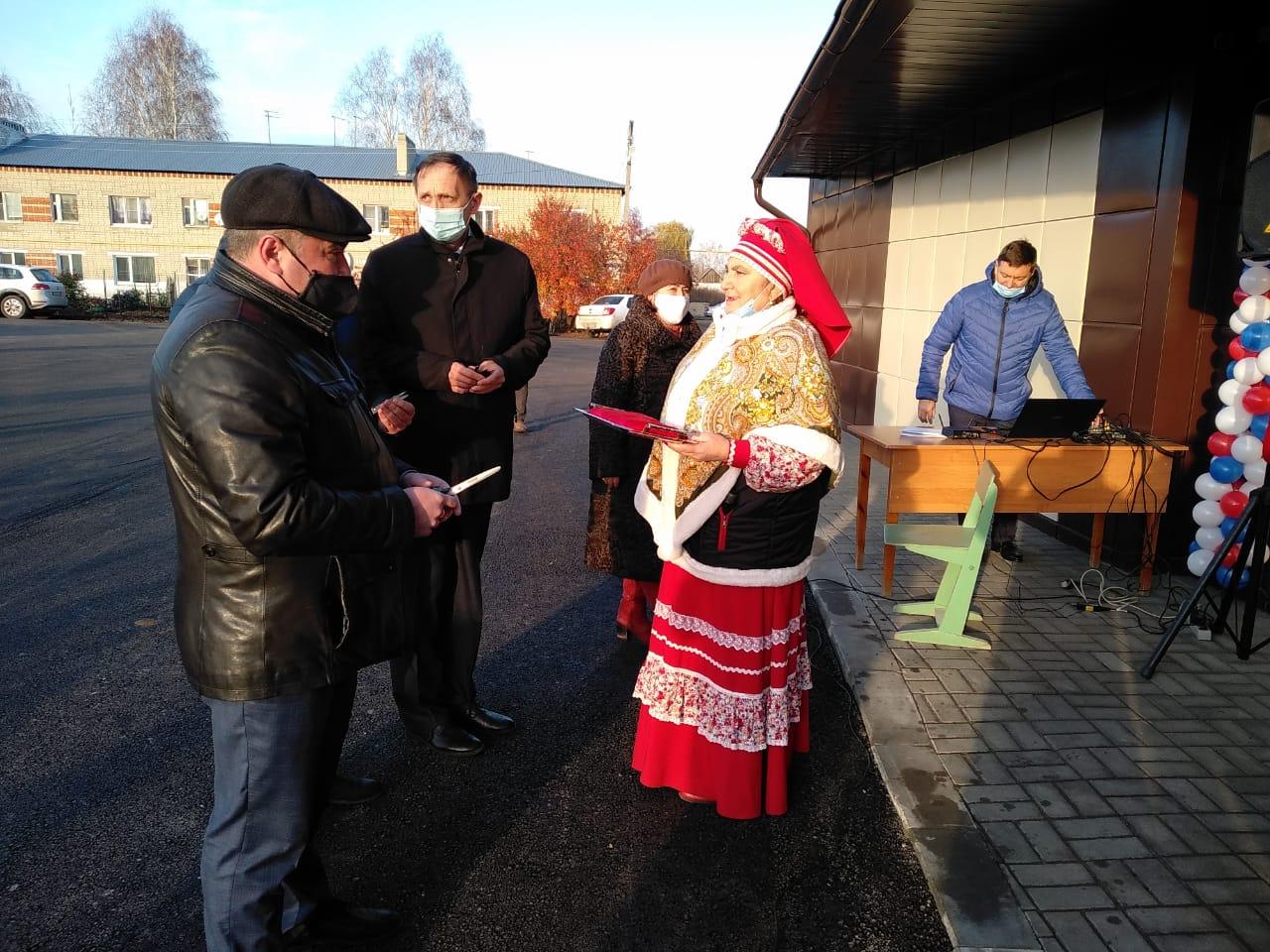 В Стрельцах после капитального ремонта открыли дом культуры