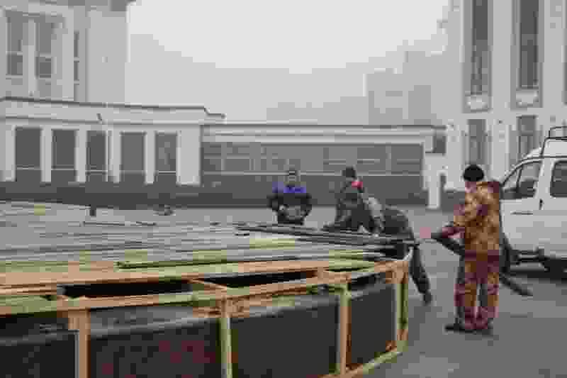 В Тамбове консервируют оставшиеся фонтаны