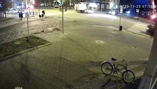 В Тамбове на перекрёстке 1-ой Полковой и Советской улиц снова случилось ДТП