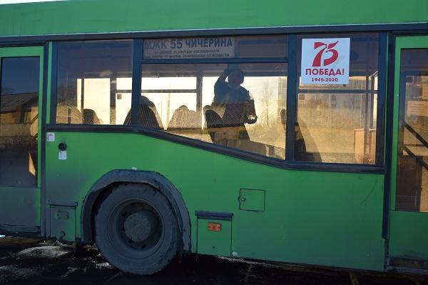 В Тамбове проверили, как дезинфицируется общественный транспорт