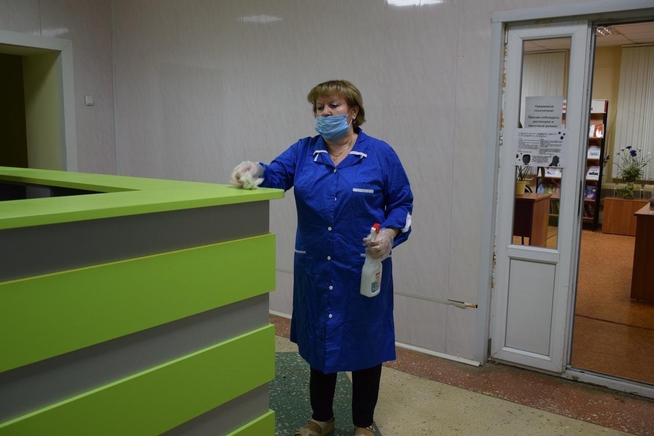 В тамбовских библиотеках усилили санитарные нормы из-за коронавируса