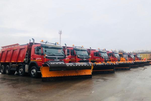 В Тамбовской области из-за ухудшения погоды организовано круглосуточное дежурство дорожников