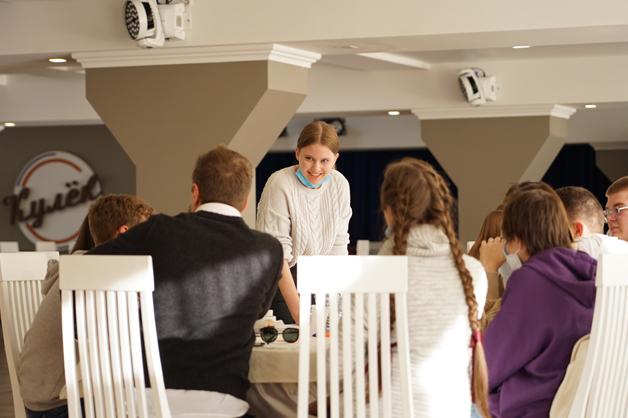 В ТГУ бизнесмены поделились опытом предпринимательской деятельности со школьниками