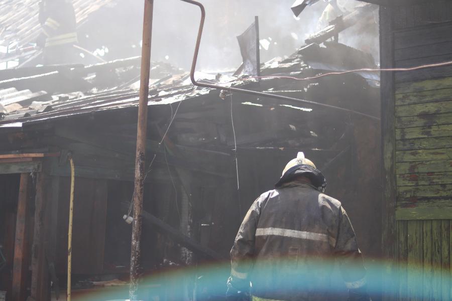 За неделю в Тамбовской области произошло более 30 пожаров