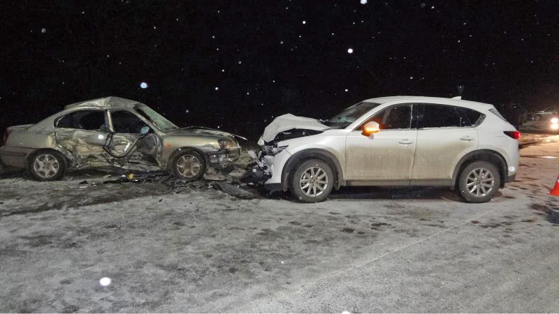 За прошедшие выходные в ДТП один человек погиб и девять пострадали
