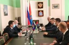 Заместитель директора ФССП России Денис Фирстов представил врио главного судебного пристава Тамбовской области