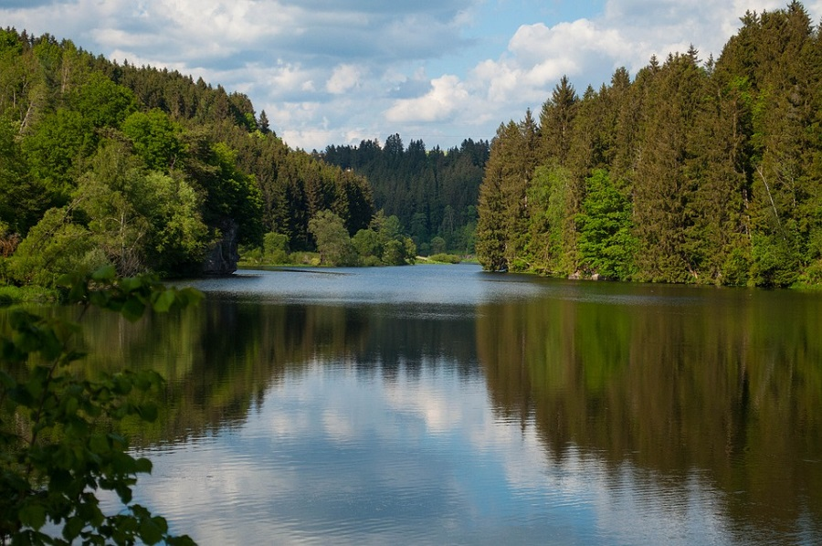 Жители Марьевки сообщают о бесконтрольном сбросе воды на Кёршинском водохранилище