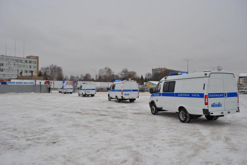 Автопарк УМВД пополнился новыми служебными автомобилями