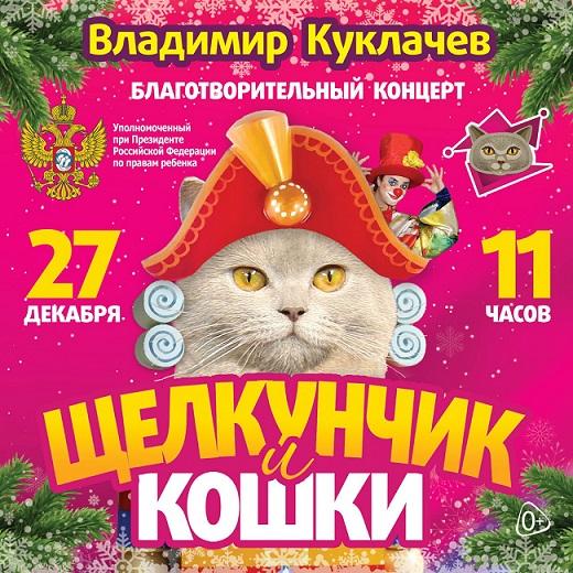 Благотворительный концерт «Щелкунчик и кошки»