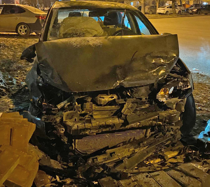 Два человека пострадали при столкновении иномарок в Тамбове