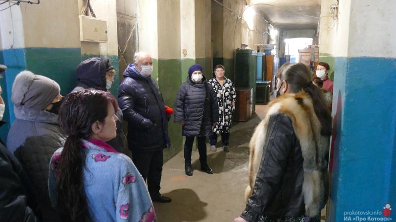 Котовчане совместно с главой города решают общедомовые проблемы