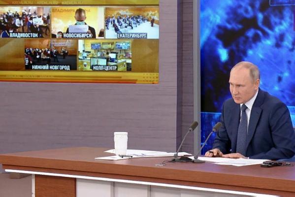 Пресс-конференция Владимира Путина: об участии в выборах, детских выплатах и индексации пенсий