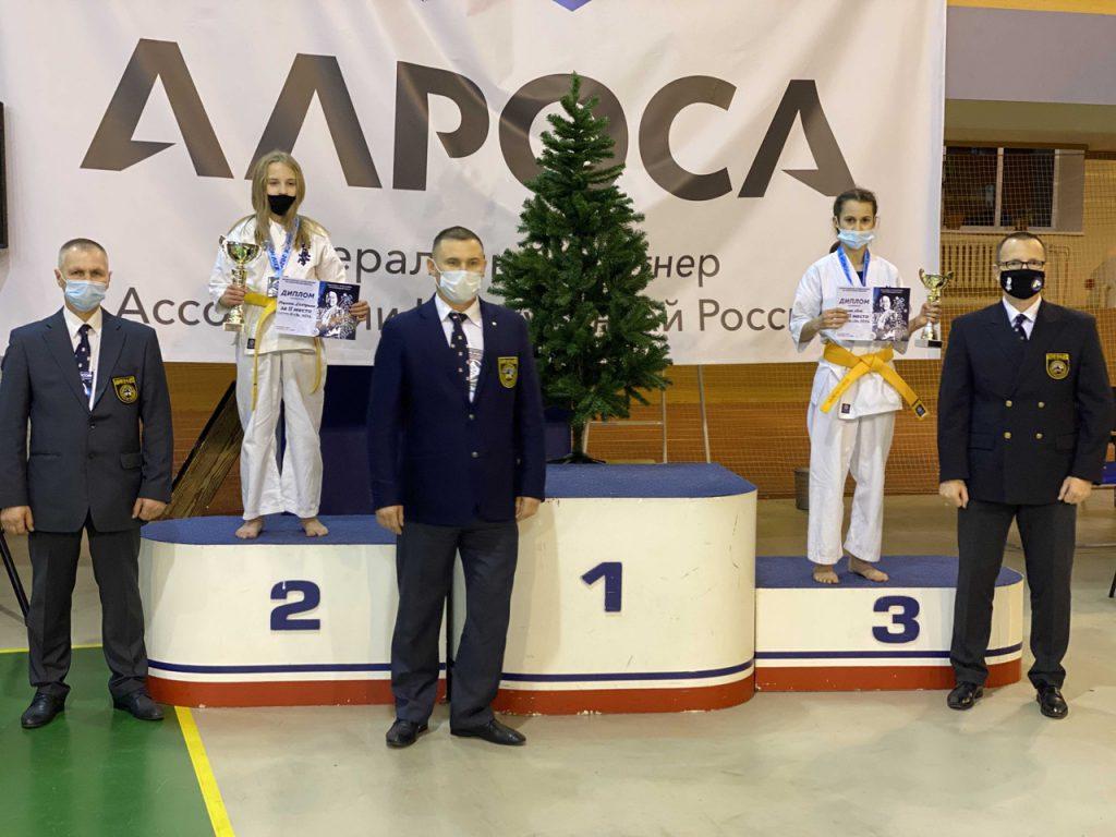 Тамбовчане привезли медали с Всероссийских соревнований по киокусинкай