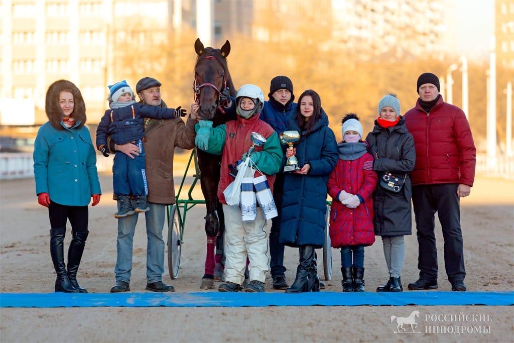 Тамбовская наездница выиграла в столице приз памяти мастера Ларионова