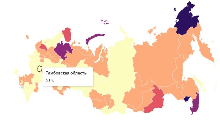 Тамбовская область вошла в число регионов с наименее пьющими женщинами