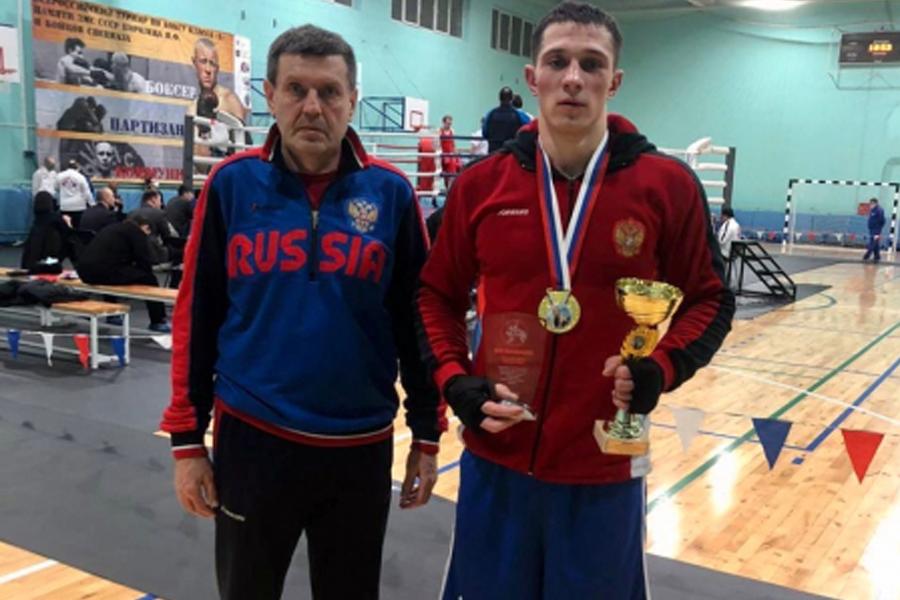 Тамбовский боксёр выиграл турнир в Москве