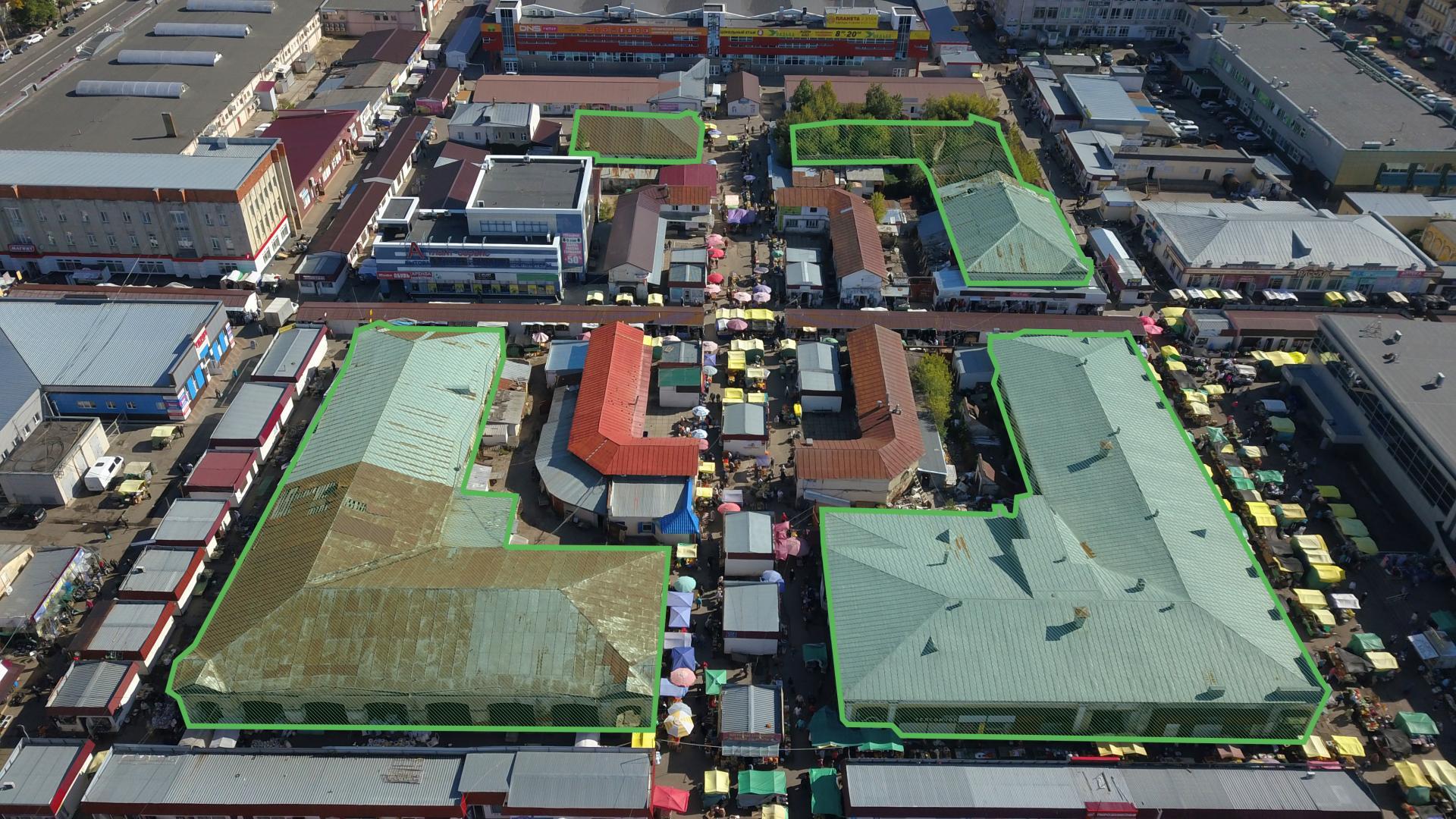 Торговые ряды на Центральном рынке Тамбова вновь не удалось продать