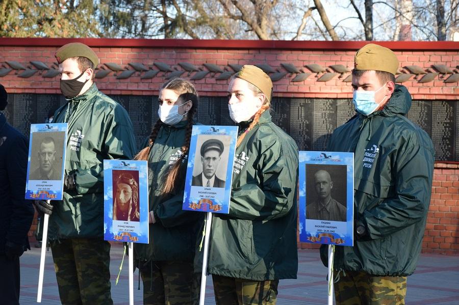 В День неизвестного солдата тамбовчане почтили подвиг погибших солдат-земляков