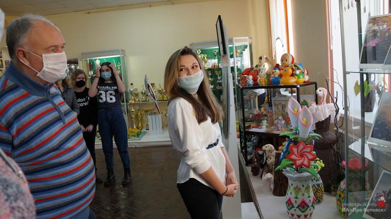 В Котовске впервые открылась выставка начинающих художников