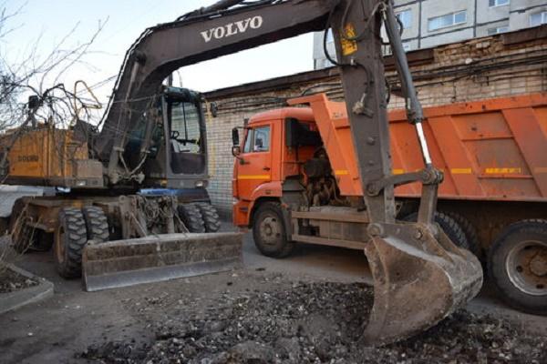 В разных частях Тамбова проходят масштабные ремонтные работы