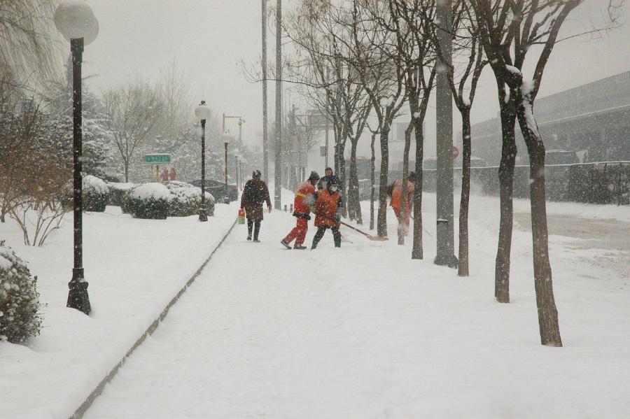 В Тамбове готовы к ликвидации последствий снегопада