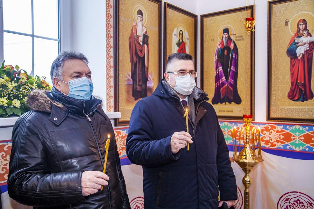 В Тамбове освятили часовню в честь Николая Чудотворца