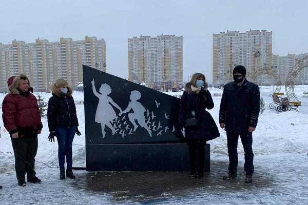ВТамбове открыли инсталляцию памяти пропавших детей