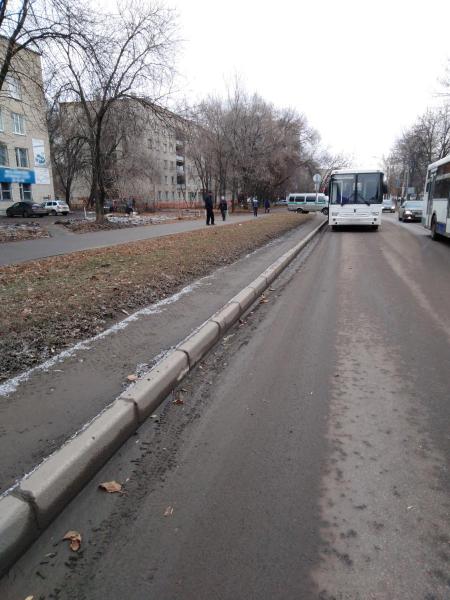 В Тамбове при падении в автобусе пострадал 70-летний пенсионер