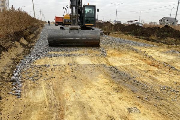 В Тамбове при строительстве дорог на двух улицах использовали некачественный щебень
