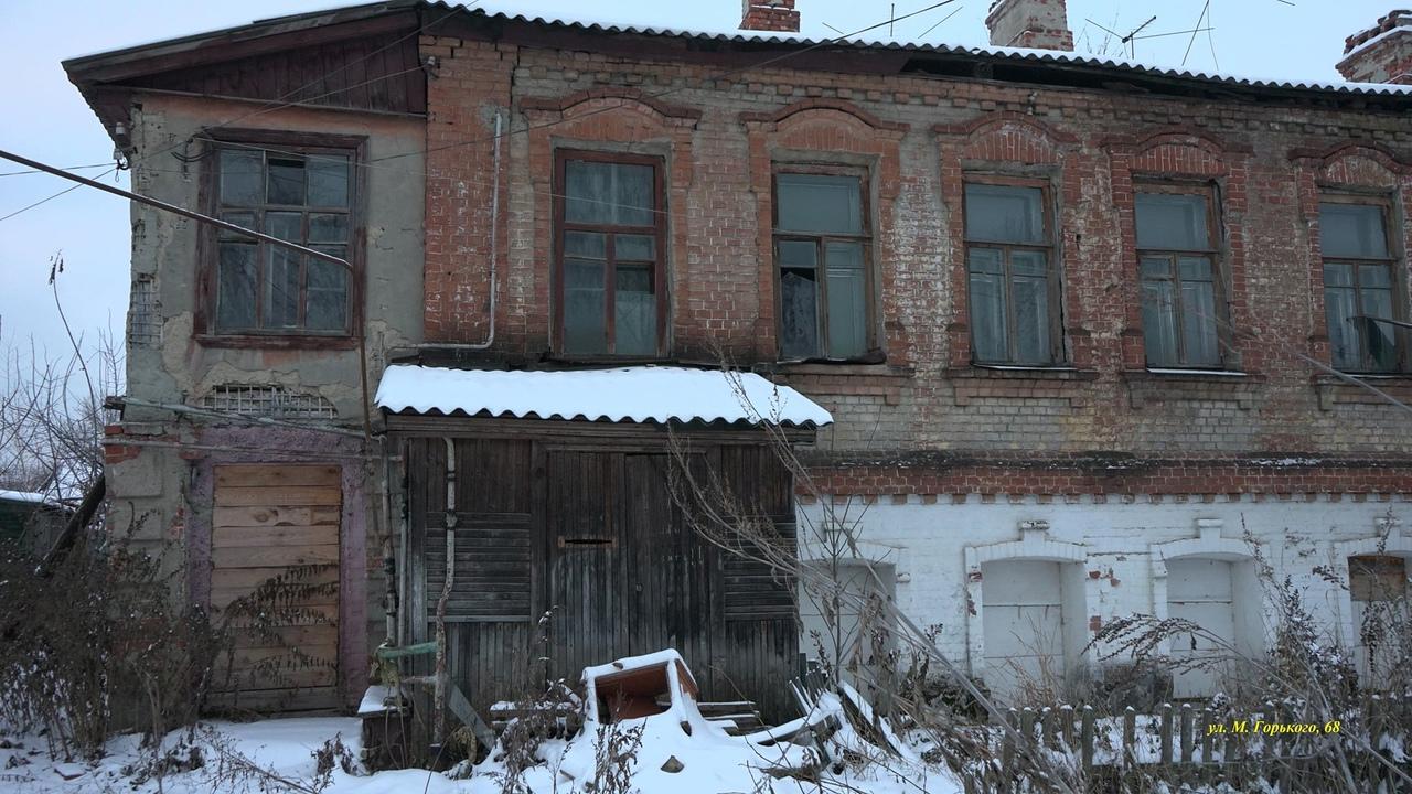 В Тамбове с арендаторов домов-памятников истории предложили брать по рублю за квадратный метр в год