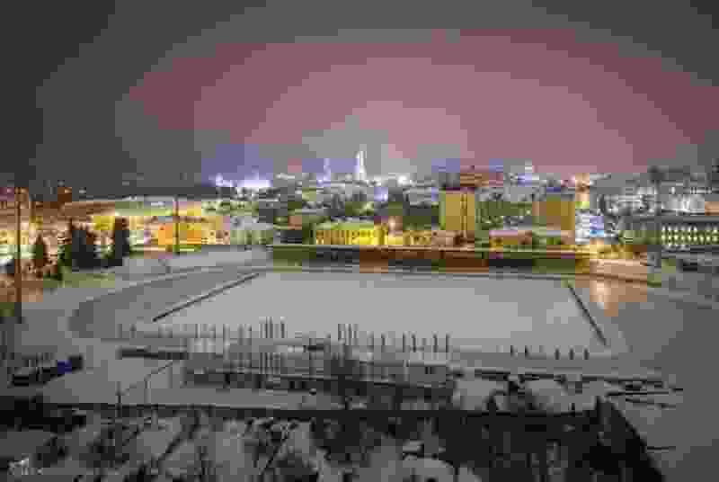 "В Тамбове в тестовом режиме откроют каток на стадионе ""Спартак"""