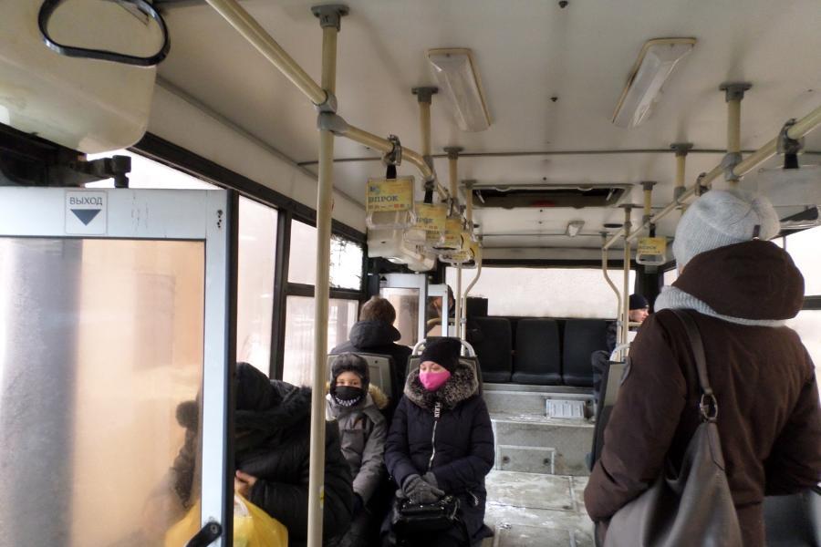 В Тамбове во время рейда выявили работавших без масок водителей общественного транспорта