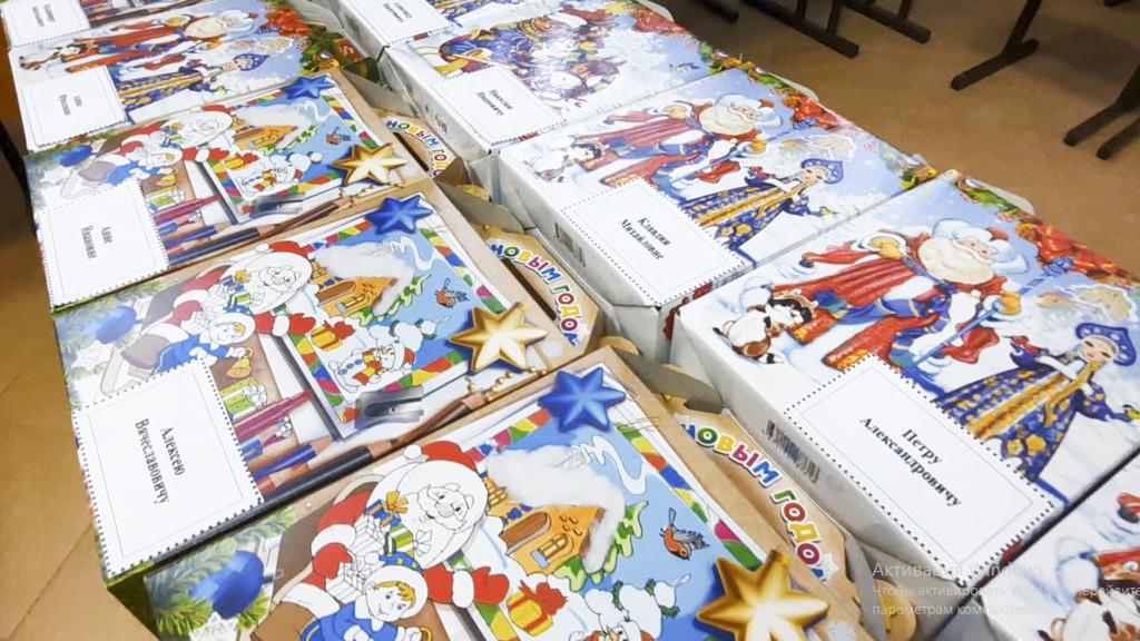 В Тамбовской области православные волонтеры передали подарки в дом-интернат